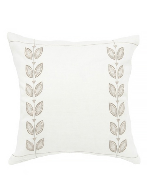 The Beige Petal Cushion Cover