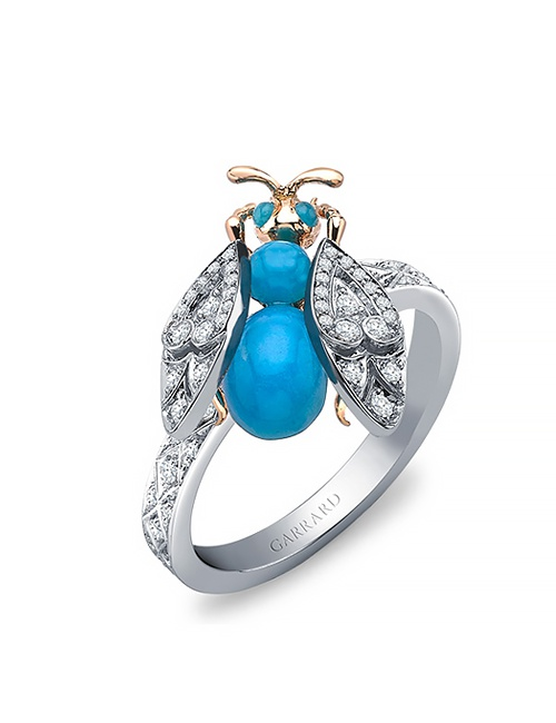 Enchanted Palace Jeweled Bug Ring