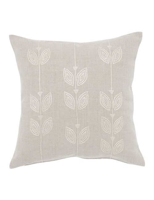 The Cream Petal Row Cushion Cover