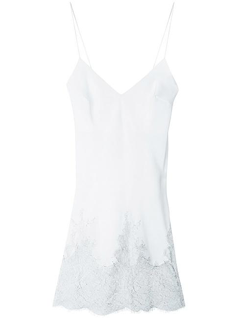 Aurora Silk & Lace Short Slip