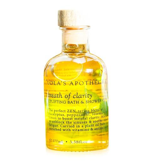 Breath of Clarity Uplifting Bath & Shower Oil