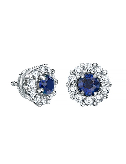 1735 Stud Earrings in Sapphire