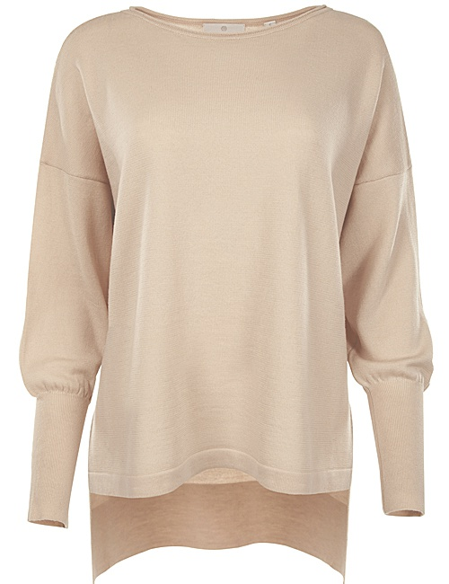 Eloise Merino Sweater - Blush