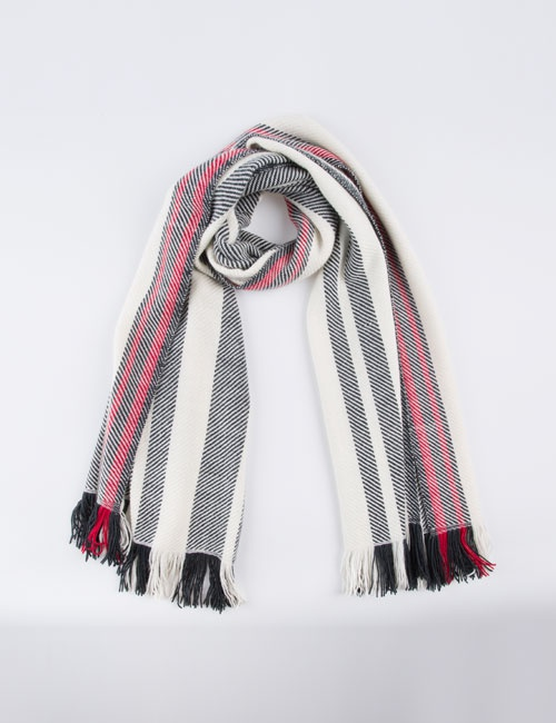 Blanket Twill Stripe Scarf