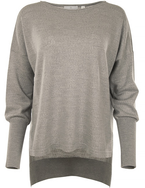 Eloise Merino Sweater - Grey