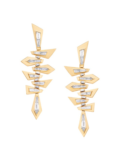 Dynamite Shattered Short Earrings