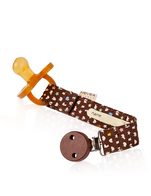 Brown Pacifier Holder