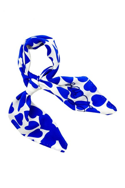 Bless it Forward Silk Tie - Blue