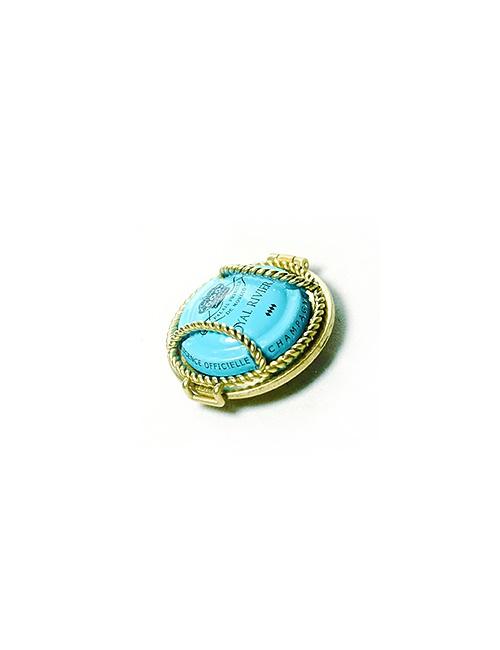 R2W Button Bronze