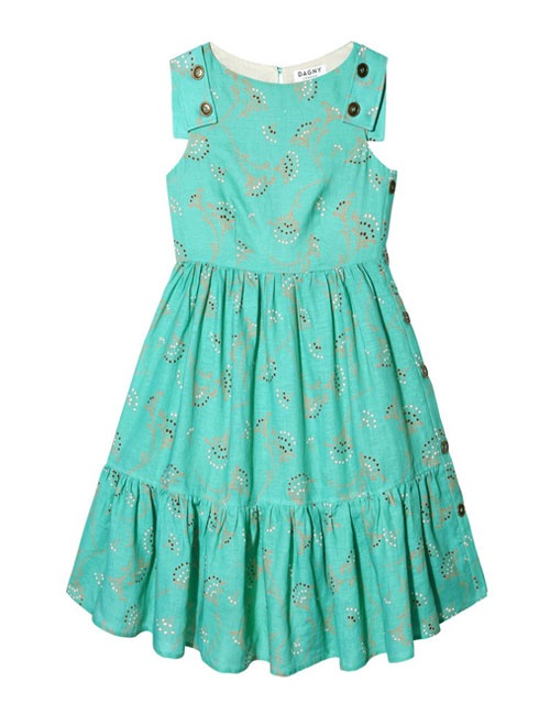 Gemma Willow Print Dress