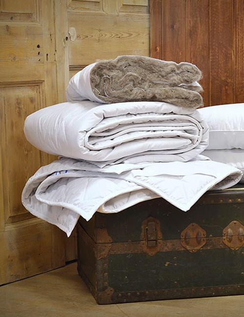 Organic Complete Alpaca Wool Bedding Set