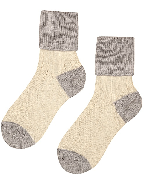 Hazel Alpaca & Merino Lounge Socks