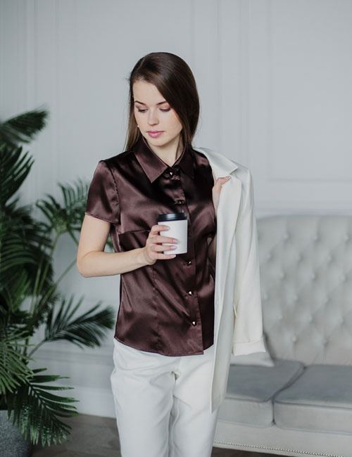 Essential Blouse Short Sleeve