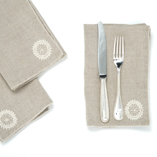 The Surya Napkin Set