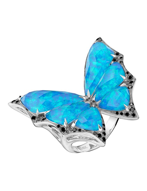 Fly By Night - Crystal Haze Small Ring