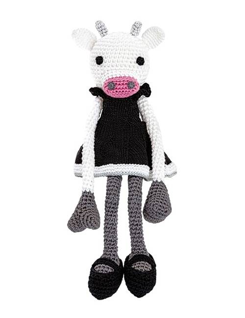 Fiona Bella Cow Leggybuddy - S