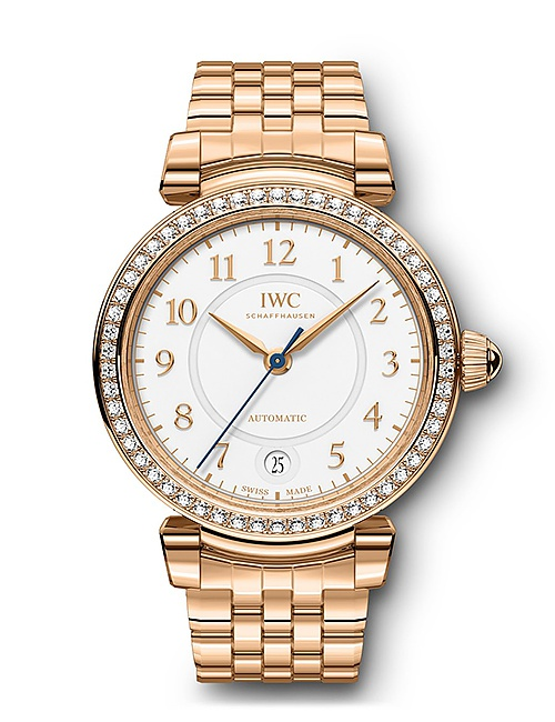 Da Vinci Automatic 36 18 Carat Gold with 54 Diamonds