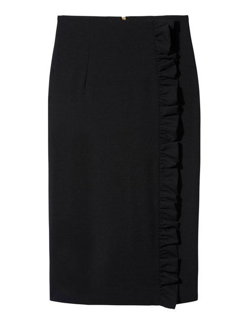 Louise Black Skirt