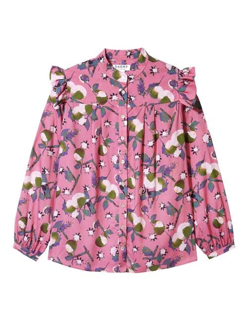 Sophie Mauve Blossom Blouse