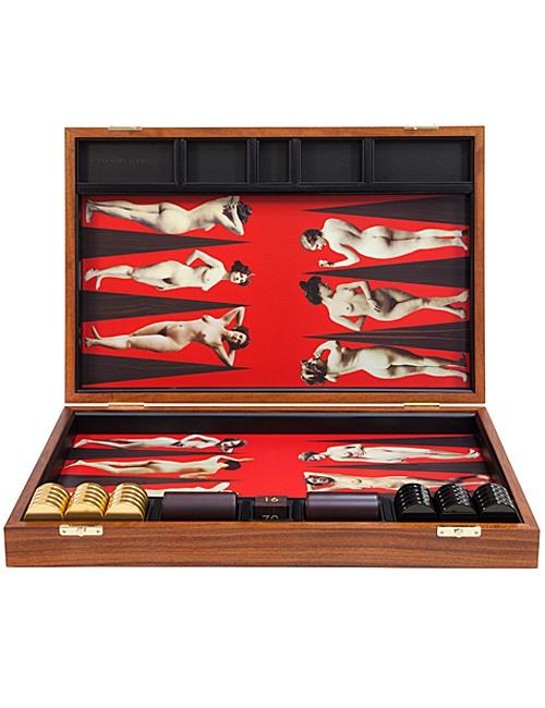 Nudes Backgammon Board