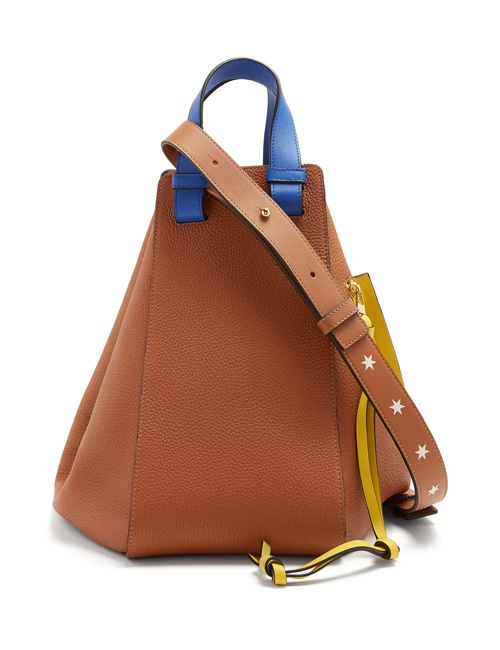 Hammock medium leather tote