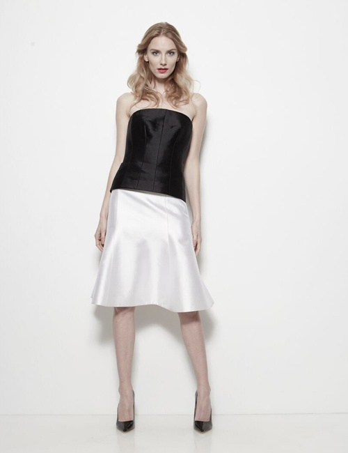 Hour Glass Bustier Fully lines with 100% Silk Taffeta