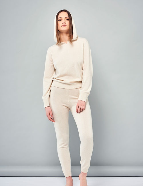Cashmere Two piece top and trousers