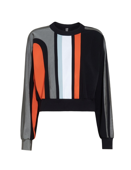 Nohona Nau paneled stretch sweatshirt