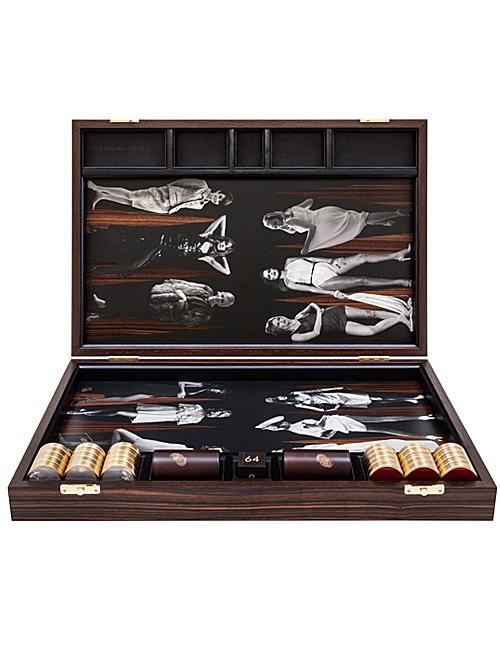 Terry O'Neil Goddesses Backgammon Board