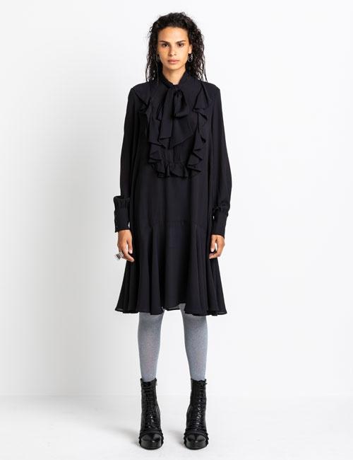 Short Ruffled Dress