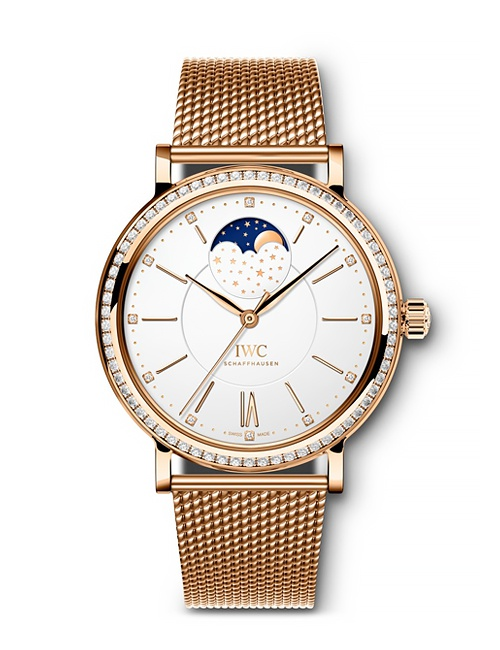 Portofino Automatic Moon Phase 37 Red Gold