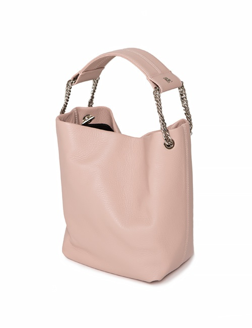 Powder Pink Leia Bucket Bag