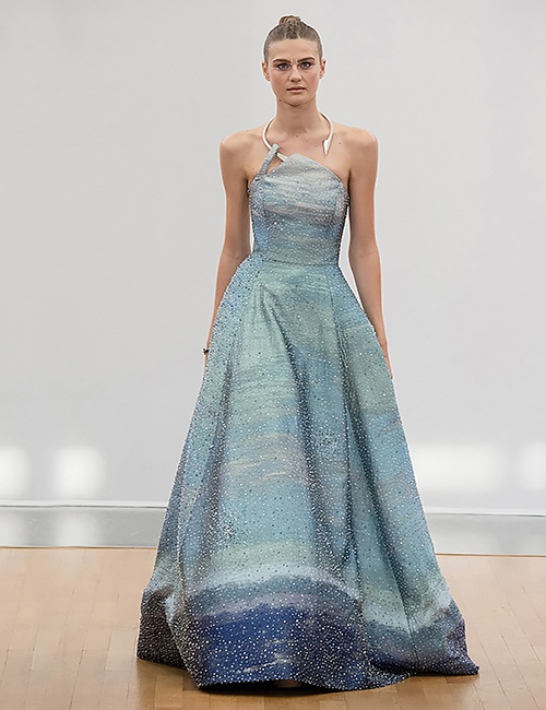 Intergalactic Cosmic Princess Gown