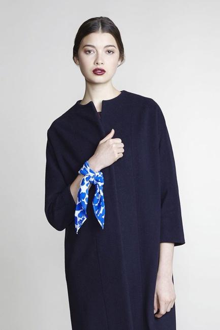 Bless it Forward Silk Tie - Blue
