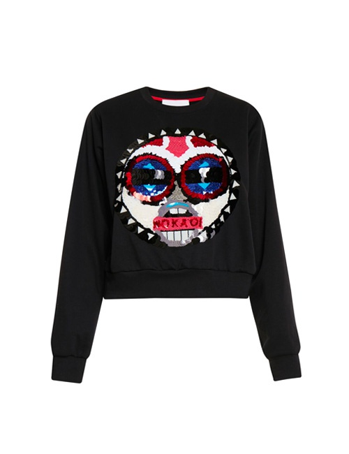 Makini Collection sweatshirt with embroidery