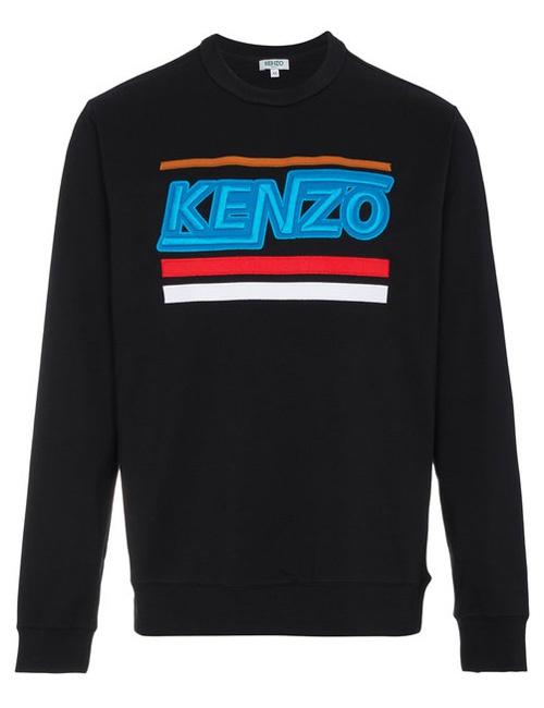 Logo-embroidered cotton-jersey sweatshirt