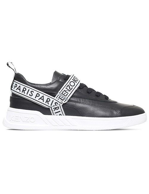 Calvin leather trainers