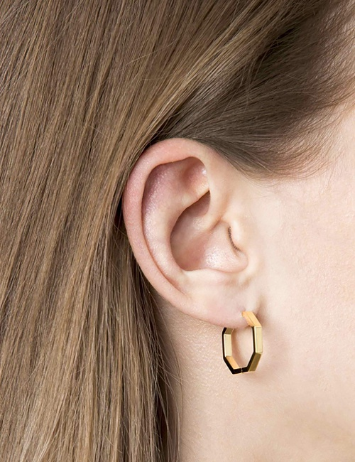 Octogone Earrings