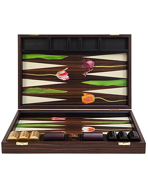 Tulip Backgammon Board