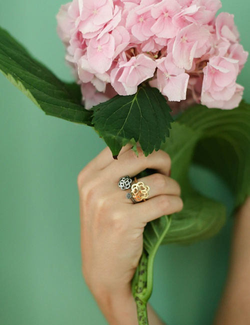 Mandala Collection Ring Rose