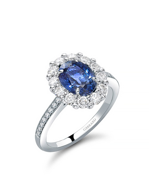 1735 Oval Ring Sapphire