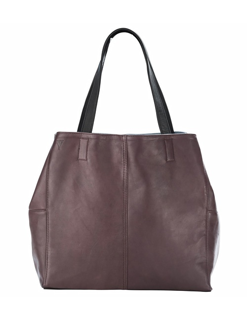 Mary Tote Plum