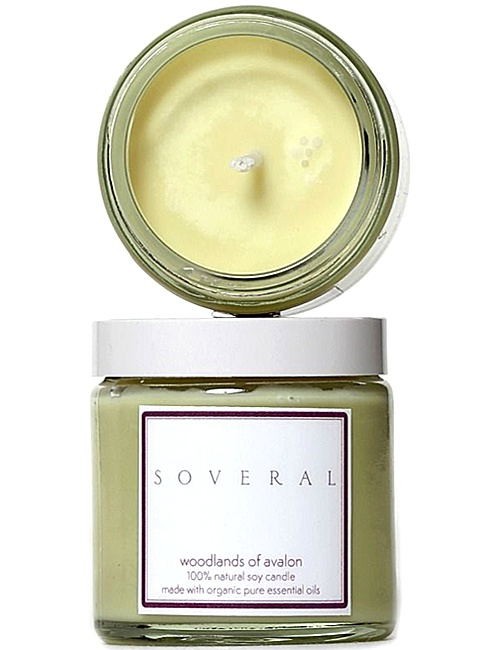 Natural Soy Candle Woodlands of Avalon