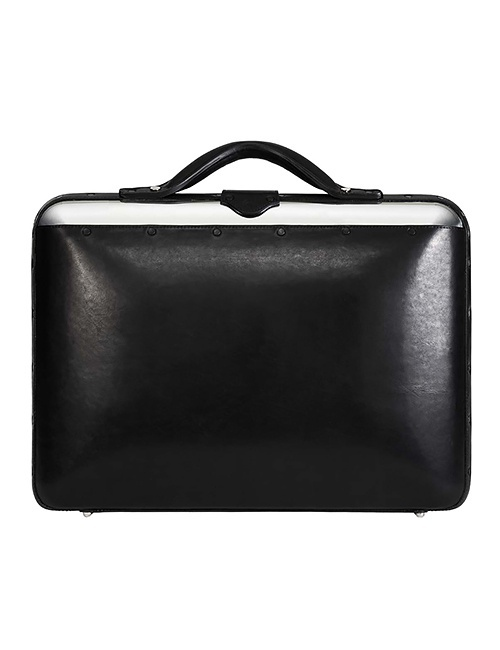 No. 25 Briefcase in Black