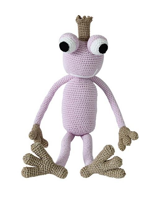 Queen Froggy Rose Gold Leggybuddy - L