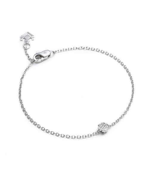Tiny Mandala Collection Bracelet White Gold