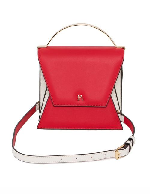 Rouge Red And Cream Mini Nova Top Handle