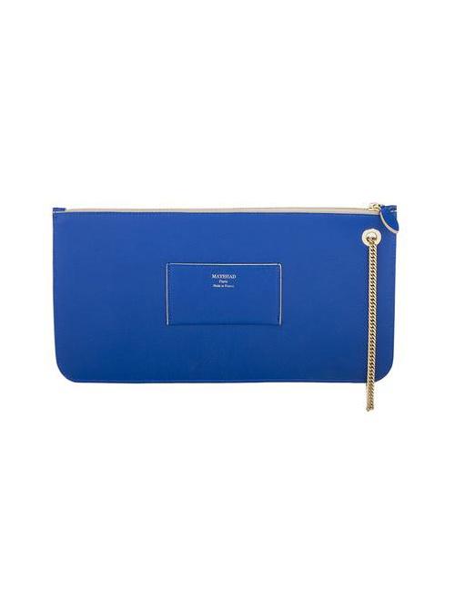 Zipped Clutch - Colette Blue