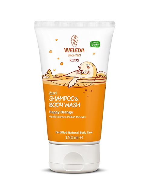 Kids 2in1 Shampoo & Body Wash Happy Orange