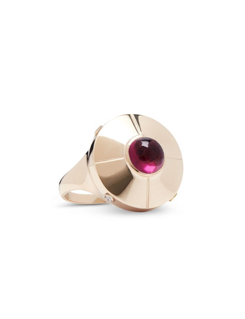Micro UFO Ring Rose Gold